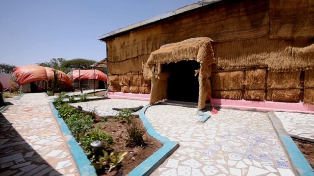 """The """"Hiddo-Dhowr"""" centre in Hargeisa."""