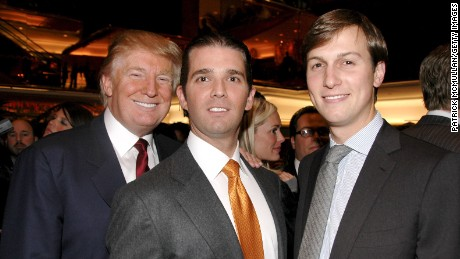 Image result for photos of donald trump jr jared kushner and paul manafort