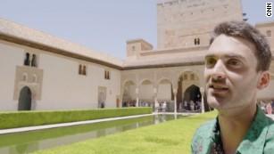 Alhambra tour guide, Yasin Maymir.
