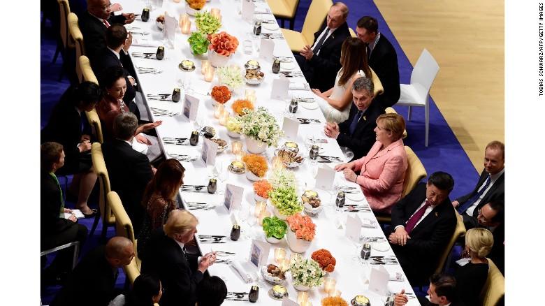 Image result for trump g20 dinner