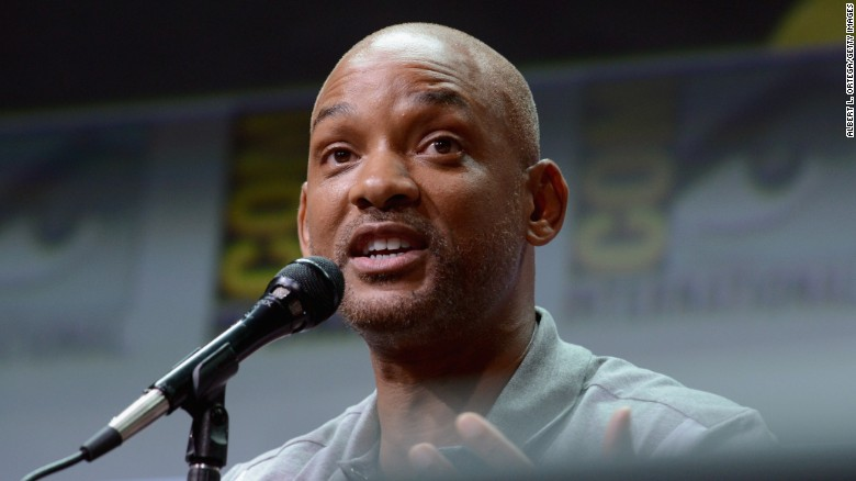 "Will Smith speaks onstage at Netflix Films: ""Bright"" and ""Death Note"" panel during Comic-Con International 2017 at San Diego Convention Center on July 20, 2017 in San Diego, California."