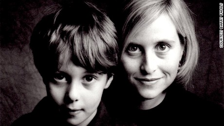 Mayor Megan Barry and her son, Max, in an undated photo.