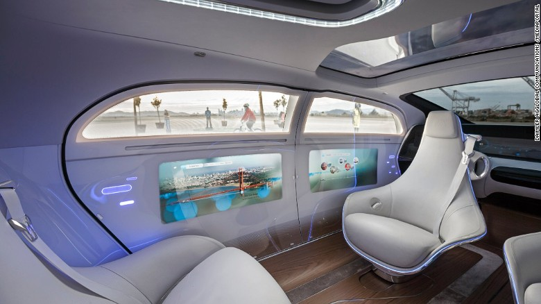 Mercedes-Benz F 015 Luxury in Motion in San Francisco 2015