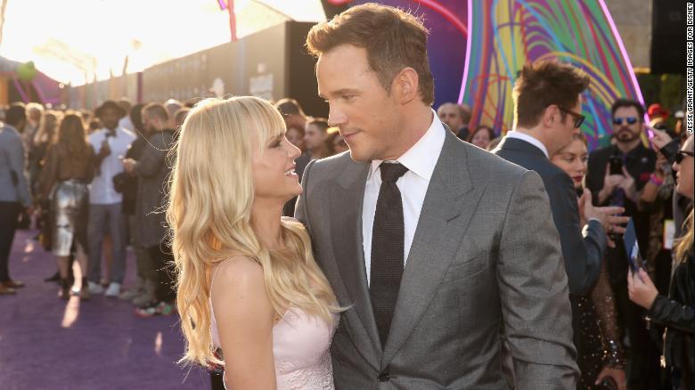 Image result for Chris Pratt, Anna Faris announce separation