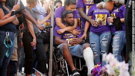 Charlottesville Va August  Marcus Martin C Who Was Injured