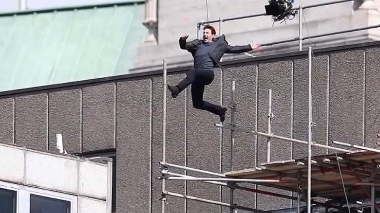 Image result for Tom Cruise injured on 'Mission: Impossible 6' set