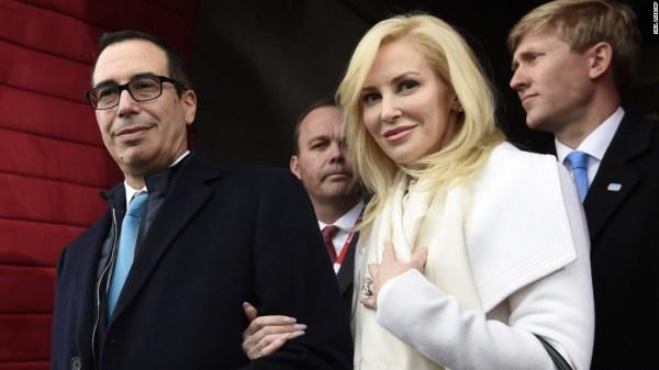 Treasury secretary's wife apologizes for Instagram post ...