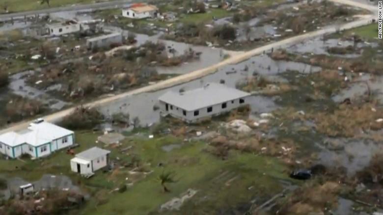 Hurricane Irma devasted the island of Barbuda