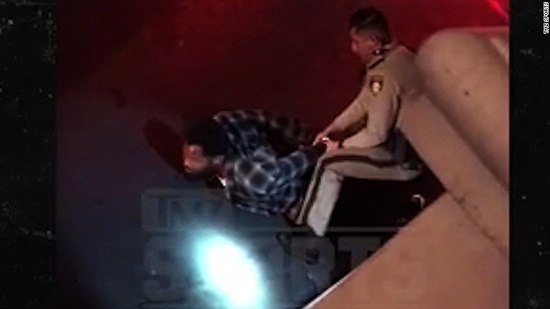 "Video from the incident shows Bennett telling an officer, ""I wasn't doing nothing, man,"""