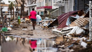 Hurricane Irma leaves 'nuclear landscape' in Caribbean