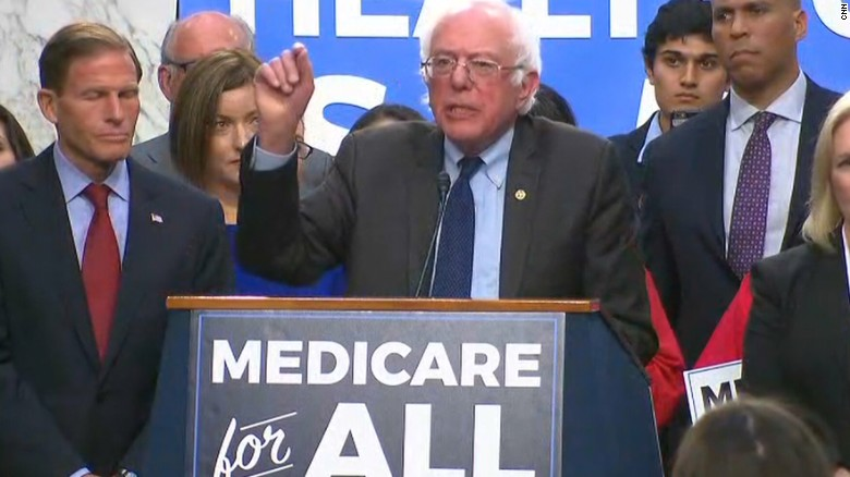 Image result for bernie sanders medicare for all
