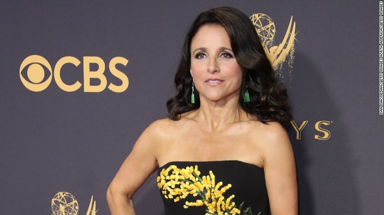"Julia Louis-Dreyfus announced she has breast cancer in a post on her official Twitter account in September.<br />""1 in 8 women get breast cancer. Today, I'm the one,"" Louis-Dreyfus wrote."