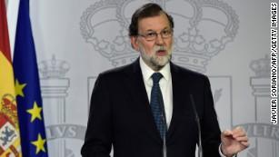 Spanish leader Rajoy mulls suspending Catalonia autonomy