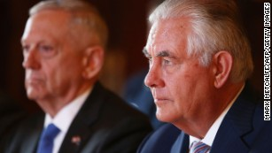Tense and difficult meeting preceded Tillerson's 'moron' comment