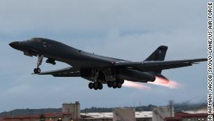 US bombers conduct drills off both coasts of Korean Peninsula