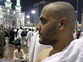 Hamoud al-Massri, of Egypt, says that after this year's hajj, he will read more about people of different cultures.