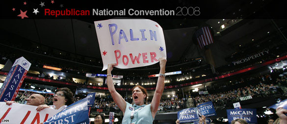 The audience at the Republican National Convention. (CNN)