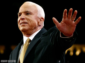"On Thursday, Democrats called John McCain ""a Bush partisan 90 percent of the time."""