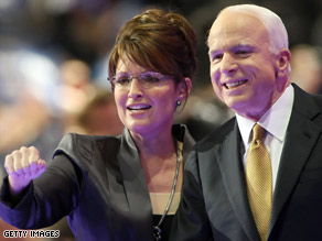 Gov. Sarah Palin and Sen. John McCain will campaign together before the VP debate.