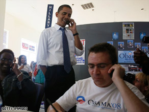 Barack Obama dont need free weekends. Hes got that campaign guap. Pic from CNN.com