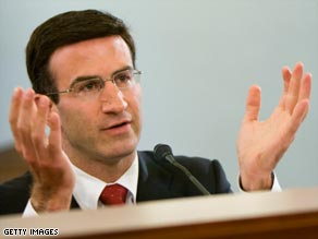 Peter Orszag is a veteran of the Clinton White House.