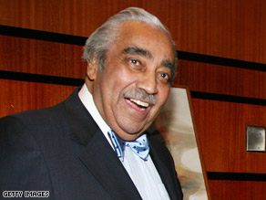 U.S. Rep. Charles Rangel denies any ties between pledges for a project and preservation of a tax loophole.