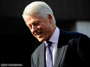 Former President Bill Clinton has been mentioned as a possible replacement for his wife in the Senate.