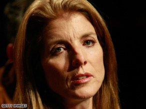Caroline Kennedy says she is the best person to replace Hillary Clinton in the Senate.