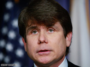 Illinois Gov. Rod Blagojevich has ignored calls to resign after his arrest on federal corruption charges.