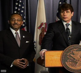Burris says Blagojevich's behavior 'reprehensible'