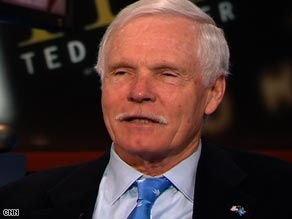 """CNN founder Ted Turner tells the network he's """"encouraged"""" by the results of last week's election."""