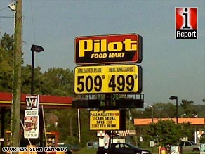 High gas prices in some places, no gas at all at others