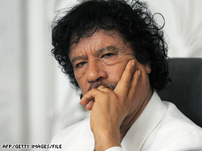 Libyan leader Moammar Gadhafi's government has made a partial payment to the United States for terror victims.