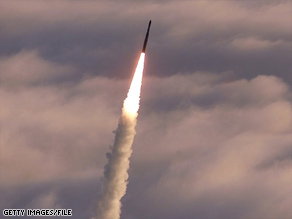 An official said the target missile launched in Friday's test would have countermeasures.
