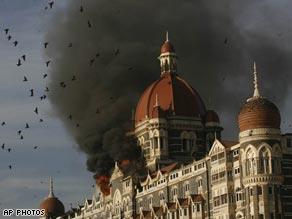 Gunfire and terrorism errupts in Mumbai