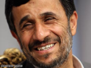 Ahmadinejad on Thursday outlined where he thinks U.S. policy needs to change.