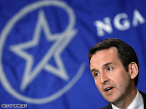 Pawlenty, a potential VP choice, is the current chairman of the NGA.
