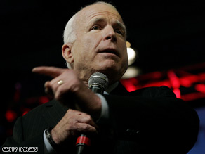 McCain is continuing to paint Obama as naive on foreign policy.
