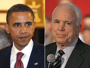 McCain and Obama will share the same stage.