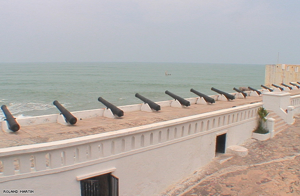 Canons from the Cape Coast Castle