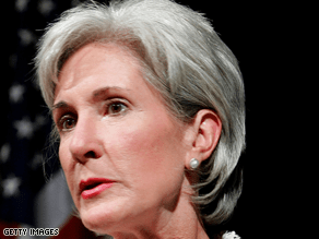 Sebelius is considered a top VP pick.