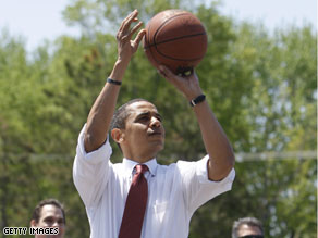 'Listen, I'm skinny but I'm tough,' Sen. Barack Obama.