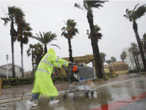 Tropical Storm Edouard hit Galveston