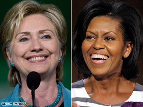 Hillary Clinton and Michelle Obama are slated to speak at the Democratic convention.