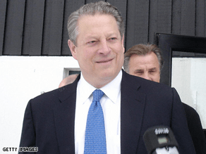 Gore will speak at Invesco Field.