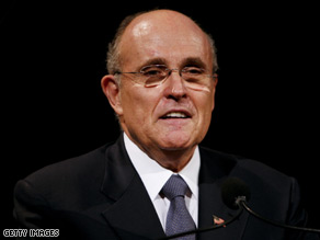 Giuliani accused an Obama advisor of being on a freelance 'mission' Wednesday.