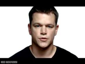 Matt Damon stars in the ONE Campaign's latest ad 'Voices'.