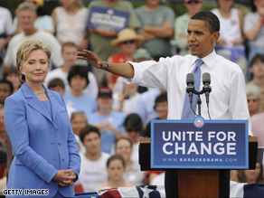 Sen. Obama and Sen. Clinton had a joint event in Unity, New Hampshire in June.