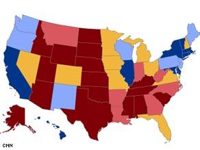 CNN's new Electoral Map.
