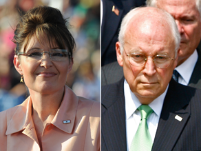 Palin is being compared to Dick Cheney.